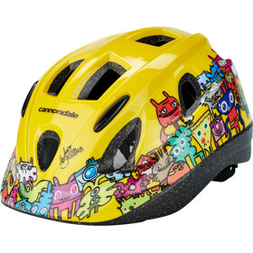 Cannondale Burgerman Colab Casco Niños, yellow